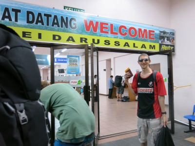 getting from Malaysia to Brunei Labuan to Serasa