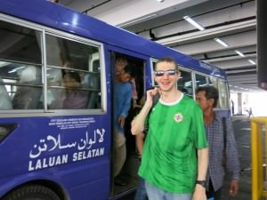 buses in Brunei local system for $1 dollar