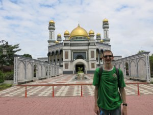 Largest Mosque in Brunei Jonny Blair a lifestyle of travel