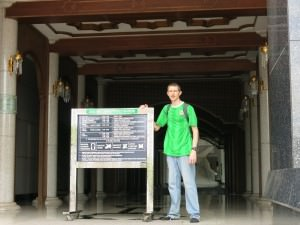 Rules and restrictions for entering the biggest Mosque in Brunei