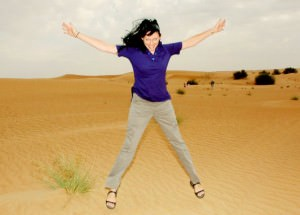 Paige world travellers dont stop living middle east UAE