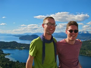 world travellers sam and zab indefinite adventure bariloche