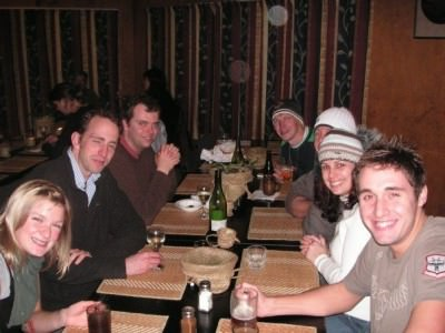 Making new friends in Rotorua, New Zealand in 2007 as part of a tour.