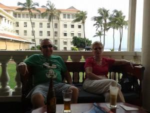 joe blair and muriel blair in Colombo Sri Lanka