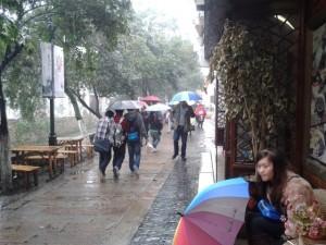 umbrellas in suzhou pingjianglu