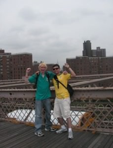 new york city backpacking