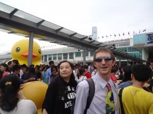 big duck in hong kong