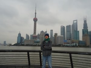 Jonny Blair in Shanghai China