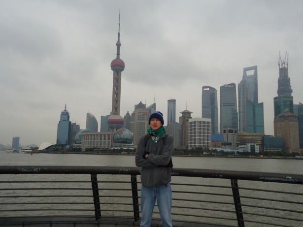 Jonny Blair in Shanghai China