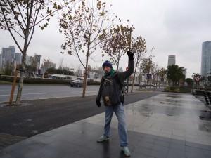 Jonny Blair goes backpacking in Shanghai