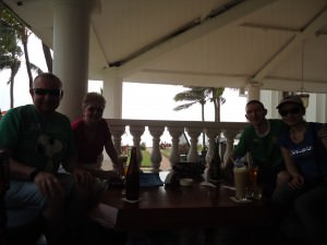drinking at galle face hotel colombo