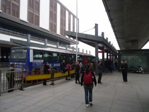 bus from train station in suzhou to the city centre