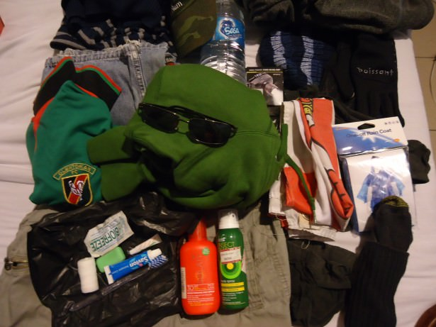 what to take for mount kinabalu