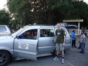 shared car from KK to Kinabalu National Park