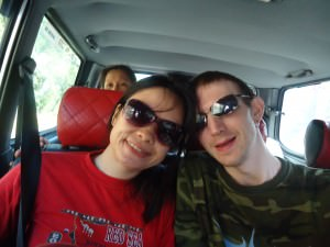 car to Kinabalu National Park