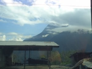 driving to kinabalu national park