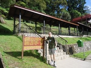 Jonny Blair at Kinabalu National Park