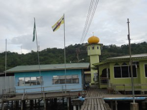 mosque kampong ayer venice of the east brunei