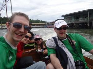 boat in brunei kampong ayer