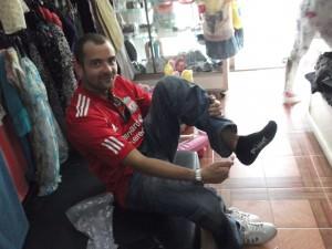 buy socks in vientiane