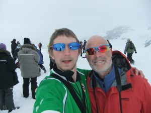 wearing sunglasses in antarctica