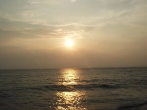 beers at sunset in colombo sri lanka