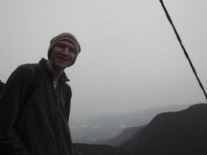 jonny blair at adam's peak sri lanka
