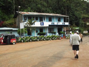 Dellhousie town mountains of sri lanka on adams peak hike
