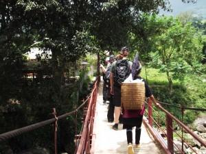 hiking in sapa vietnam giangtachai village