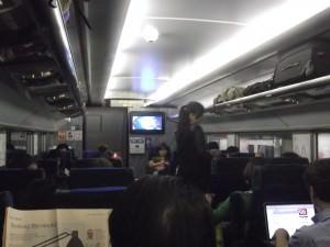 Hung Hom to China border by train to Guangzhou