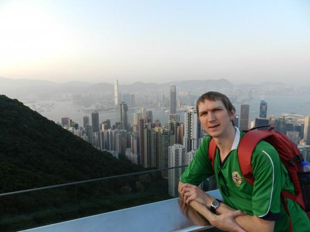 Jonny Blair at the Peak Hong Kong