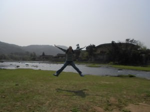 jonny blair jumping in fujian china