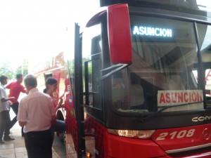ciudad del este to paraguay bus