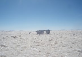 sunglasses at salar de uyuni