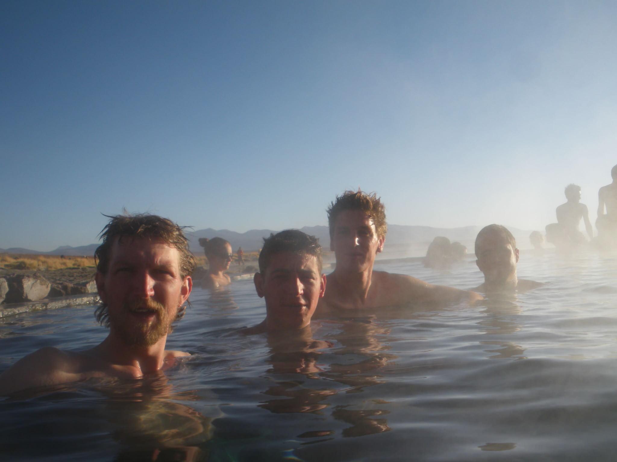 swimming in bolivia salar de uyuni tour