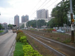 Yuen Long near the theatre