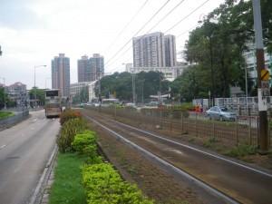 Yuen Long near the theatre