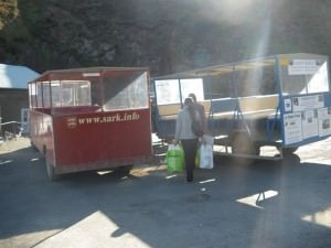 sark channel islands trailer tractor