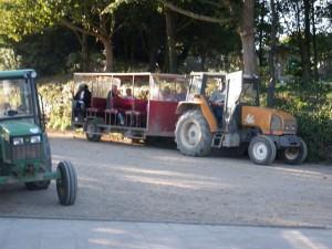tractor trailer sark channel islands