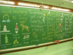 Christmas English lessons in Yuen Long a lifestyle of travel