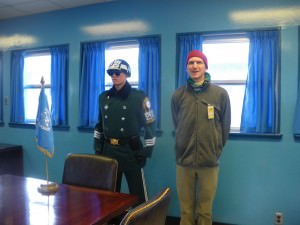 jonny blair in north korea in 2011