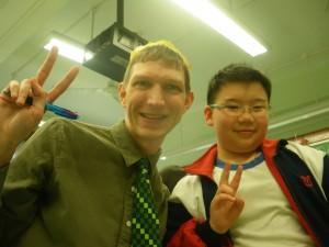 teaching English in Yuen Long 2012