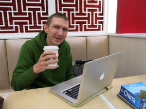 Jonny Blair travel blogging in hangzhou China