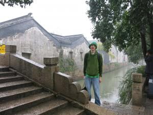 Jonny Blair in China