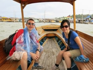boat to kampong ayer in brunei