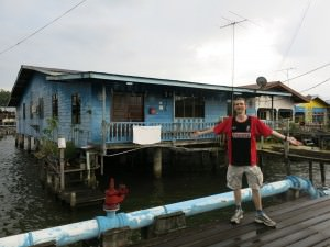 kampong ayer stilt housing brunei