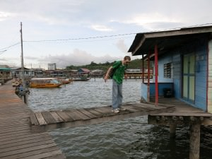 Jonny Blair stilt housing in Brunei at Kampong Ayer
