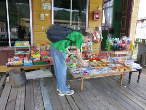 sweet shop on Kampong Ayer