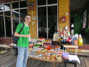 sweet shop in brunei kampong ayer