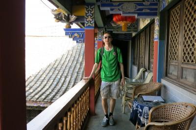 jonny blair at linan inn jianshui china